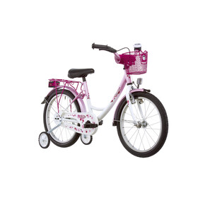 "Vermont Girly Childrens Bike 16"" pink/white"